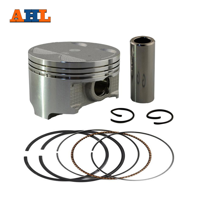 AHL Delik Boyutu 83mm Suzuki için Motosiklet Piston Ring DR350 DR 350 Pİston Kİt 4mm Overbore 1990-1999